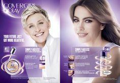 Covergirl Cosmetic Advertising with Sophia & Ellen