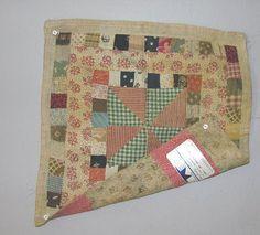 antique doll quilt | ANTIQUE DOLL QUILT.