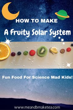 Want to make a fruit solar system for a space and astronomy mad toddler or child?! Check out how to have lots of fruit fun!