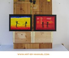 Tanzmalereien im Atelier von Manuel Süess Frame, Home Decor, Art, Atelier, Craft Art, Room Decor, Frames, Kunst, A Frame