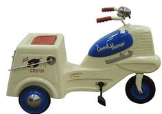 Vintage Restored Good Humor Pedal Car with Bell