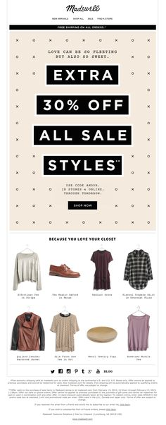 Sale: Madewell Product pick under image