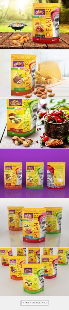 Nuts Doypack GSC - Packaging of the World - Creative Package Design Gallery - http://www.packagingoftheworld.com/2016/10/nuts-doypack-gsc.html