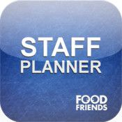 App name: Staff Planner. Price: free. Category: . Updated:  Aug 02, 2012. Current Version:  1.0. Size: 2.20 MB. Language: . Seller: . Requirements: Compatible with iPhone, iPod touch, and iPad.Requires iOS 3.2 or later. Description: The FoodFriends StaffPlanner A  pp let's restaurant staff keep   track of their schedule. The   schedule is set up by the rest  aurant on the FoodFriends site    .