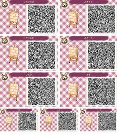 Brown Brick Paths Acnl Animal Crossing Animal Crossing Qr