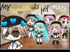 """•My Blondie İs My Maid •    ep 1    """"looking for a new maid""""   gacha life series    - YouTube Diy Pokemon Cards, Guitar Drawing, Cute Disney Drawings, Anime Wolf Girl, Cute Dog Pictures, Anime Chibi, Cringe, Maid, Cute Dogs"""