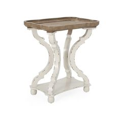 Ouray French Country Accent Table with Rectangular Top by Christopher Knight Home - Overstock - 31688318 Wood End Tables, End Tables With Storage, Table Storage, French Country Dining Room, French Country Furniture, Comfortable Living Room Chairs, Living Room Arrangements, Dining Table, Christopher Knight