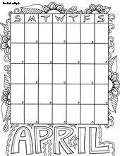 Free Calendar Coloring Pages from Doodle Art Alley Cute Coloring Pages, Adult Coloring Pages, Free Coloring, Coloring Books, Colouring, Art Calendar, Blank Calendar, Kids Calendar, Binder Covers