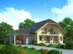 Pavla 9 | Ekonomické stavby Pavlova, Home Fashion, Tuna, House Plans, Shed, Outdoor Structures, Cabin, How To Plan, House Styles