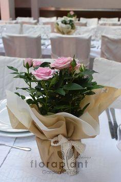 Κέντρο - Center piece - rose Centerpieces, Table Decorations, Rose, Wedding, Home Decor, Valentines Day Weddings, Pink, Decoration Home, Room Decor