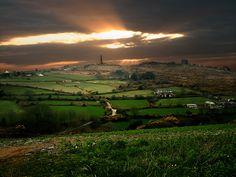 Carn Brea Redruth in Cornwall,