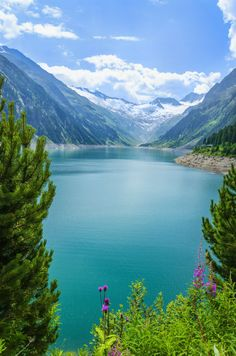 Zillertal Valley in the Austrian Alps - Tyrol, Austria