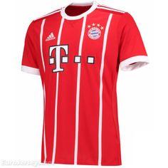 22a6b3607  16 Eurojerseys Bayern Munich 2017-18 Home Soccer Jersey Football Shirt  Fußball-Trikot Bayern