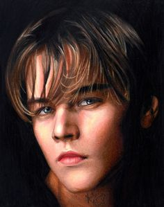 Heather Rooney Art - Colored pencil drawing of Leonardo DiCaprio