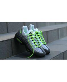 Nike Air Max 95 OG Neon Green Grey White Shoes Air Max 95 Neon bb8282a240b0b
