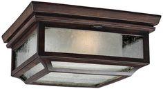 "Feiss Shepherd 13""W Heritage Copper Outdoor Ceiling Light - #8N639 | Lamps Plus"
