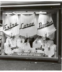 XL panties  weegee c.1950
