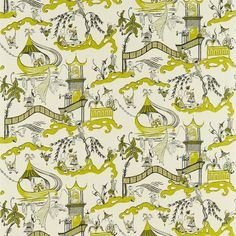 Sanderson - Traditional to contemporary, high quality designer fabrics and wallpapers | Products | British/UK Fabric and Wallpapers | Pagoda...