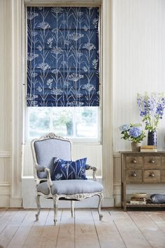 Image from the Poetica collection by Harlequin Pantone 2016, Harlequin Fabrics, Harlequin Wallpaper, Beautiful Blinds, Fabric Roman Shades, Made To Measure Curtains, Curtains With Blinds, Roman Blinds, Curtain Designs