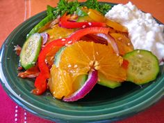 Singapore Cucumber Salad Recipe - Genius Kitchen