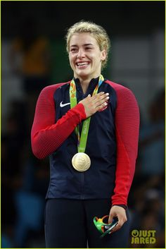 Helen Maroulis Wins the USA's First Gold in Women's Wrestling