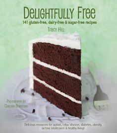 DELIGHTFULLY FREE--by Chelsea Armstrong. The best Gluten Free cook book I've found with kid friendly & adult appealing recipes