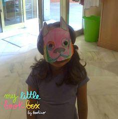Mascara Taller Sopa de Calabaza de @La Gallina Pintadita Carmen
