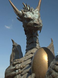 Which came first, the dragon or the egg? by adammlewis, via Flickr