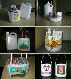 Re-use plastic containers