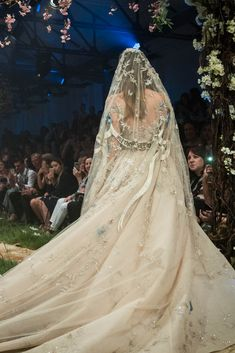 Here are Disney-inspired couture gowns perfect for your wedding. A whole new world of bridal Disney looks. Disney Wedding Gowns, Disney Inspired Wedding Dresses, Disney Weddings, Themed Weddings, Fairytale Weddings, Romantic Weddings, Barn Weddings, Destination Weddings, Unconventional Wedding Dress