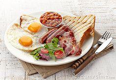 English Breakfast Royalty Free Stock Photography - Image: 36546197