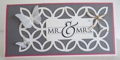 Hochzeitseinladung Mr. & Mrs.  von Paperdesign-4you auf DaWanda.com