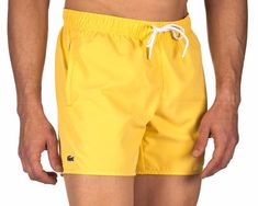 Bañador LACOSTE ® Daba Amarillo | ENVÍO GRATIS Lacoste, Credit Card Transfer, United Arab Emirates, Macedonia, Boutique, Swim Shorts, Online Shopping Clothes, Ukraine, Swimwear