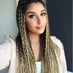 15 African Hair Threading on natural hair. Blonde White Girl, White Girl Braids, Blonde Box Braids, Girls Braids, Box Braids Hairstyles, African Hairstyles, Pretty Hairstyles, Hippie Braids, Afro Braids