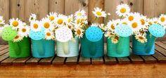 Good idea for garden/pergola decoration