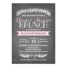 Laurel Brunch | Bridal Shower Card