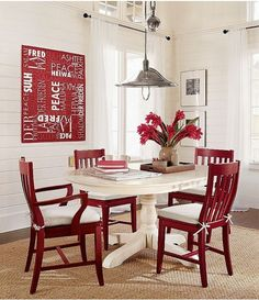 Could my 80\'s dining room table look like this | For the Home ...