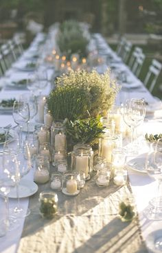 The Perfect Romantic Italian Garden Dinner Party.