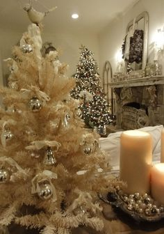 I love this shot that a friend of mine took of our family room (even though the star on the tree is all wonky!)