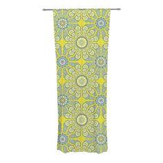 "Miranda Mol ""Budtime"" Decorative Sheer Curtain from KESS InHouse #kess #mirandamol #home #decor #modern  #spring"