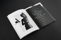 Awesome editorial, minimal works and custom typeface