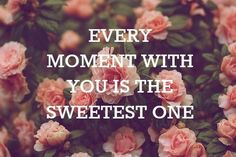 Normally this would be way too sweet for my taste, but since I fell for you it is oh so true.