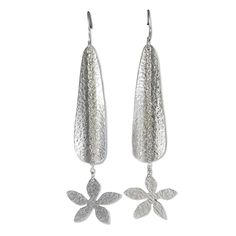 Garden of Silver earrings