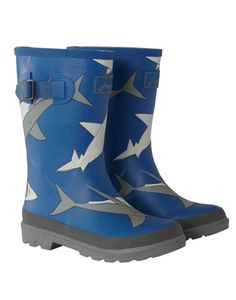 Joules null Boys Rain Boots, Shark.                     Splashtastic! Made for those unavoidable muddy moments that are just around the corner. In new prints for the new season. joulesusa.com  32