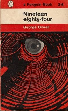 1984 book cover by Germano Facetti. I can not tell you how much I loved this book in highschool