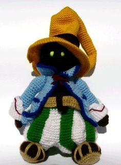 Vivi from Final Fantasy inspired doll - PDF Amigurumi Pattern ($8 on Etsy.com)