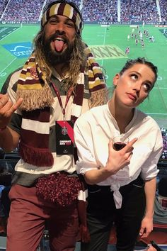 'Aquaman' Co-Stars Jason Momoa & Amber Heard Hit Up Rugby Match With His Cute Kids: Photo Jason Momoa and Amber Heard are bonding on and off set of Aquaman. The co-stars attended the 2017 State of Origin rugby tournament between the Queensland Maroons… Jason Momoa, Satan, Anastasia, Aquaman Film, We Heart It, Dc Comics, Amber Heard Photos, New Toy Story, Movies And Series