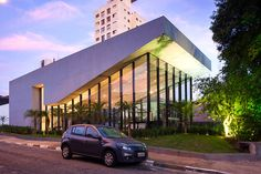 expo bonna by basiches arquitetos features gestural roof - designboom | architecture