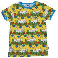 Smafolk - T-Shirt, Birds l Yellow
