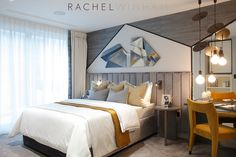 Rachel Winham Interior Design is a leading London-based interior design & interior architecture studio specialising in luxury residential and developer projects. Teen Girl Bedrooms, Kids Bedroom, Soho Apartment, Interior Architecture, Interior Design, Suites, Decoration, Furniture Design, House Design